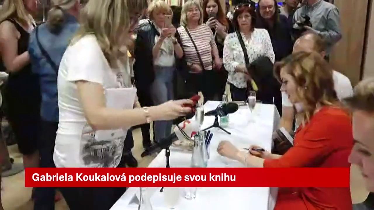 Video: Koukalová představila poprvé svůj knižní trhák fanouškům