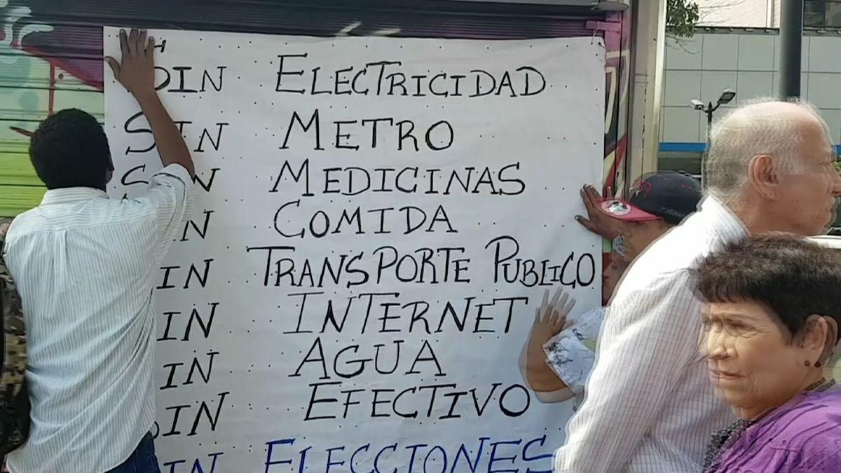 Opozice nechce dohled OSN nad volbami ve Venezuele. Legitimizoval by prý zmanipulované Madurovo vítězství