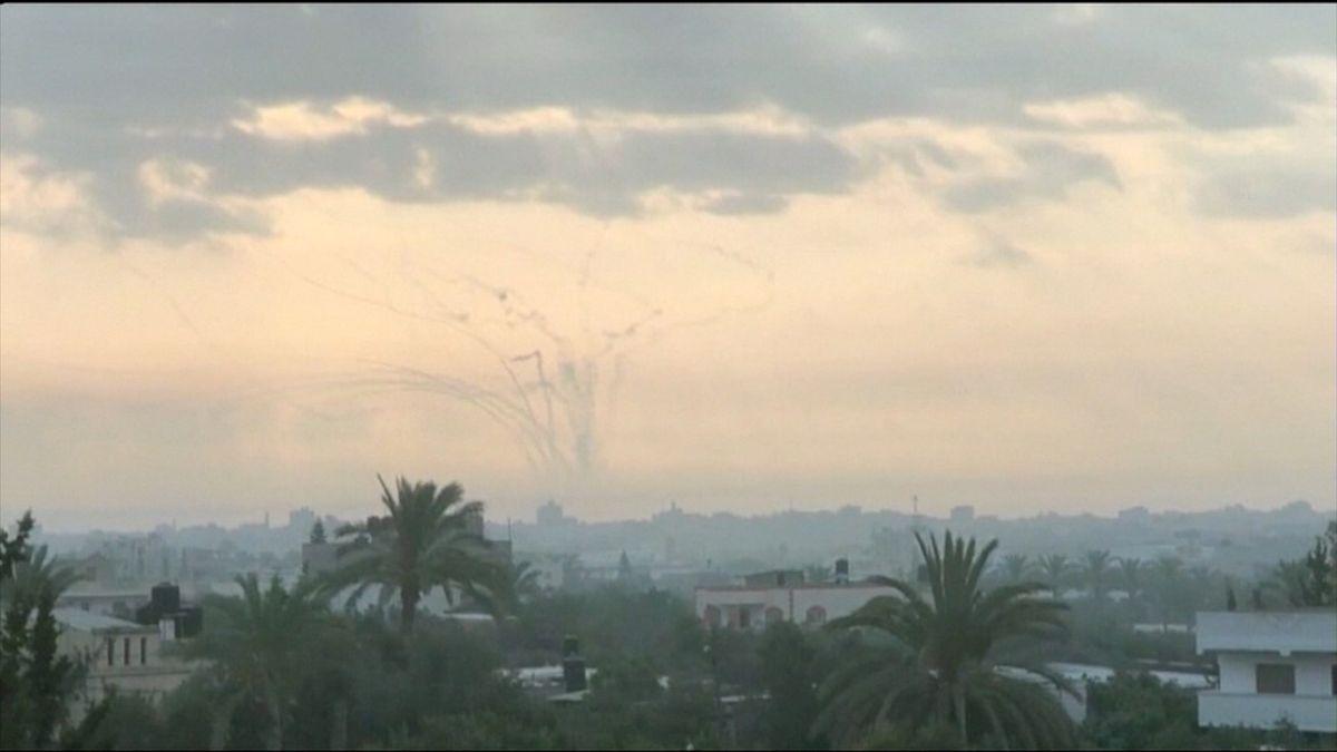 Izrael zneškodnil rakety vypálené z Pásma Gazy. Následně bombardoval pozici Islámského džihádu