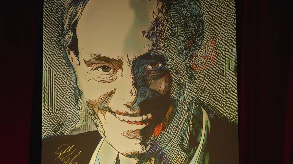 Výtvarník Roman Řehák představil nové dílo: Vytvoření obrazu Jana Třísky byla náhoda!