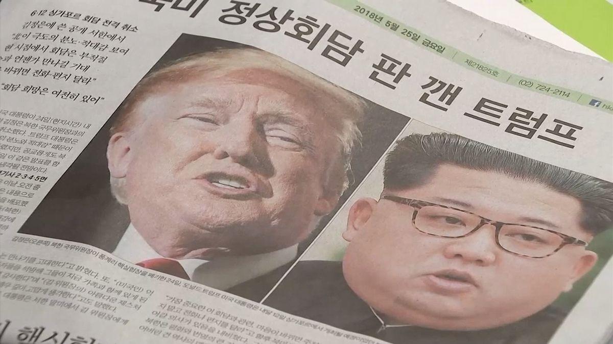 Další obrat v Trumpově jednání s KLDR. Místo summitu USA plánují vyhlásit nové sankce