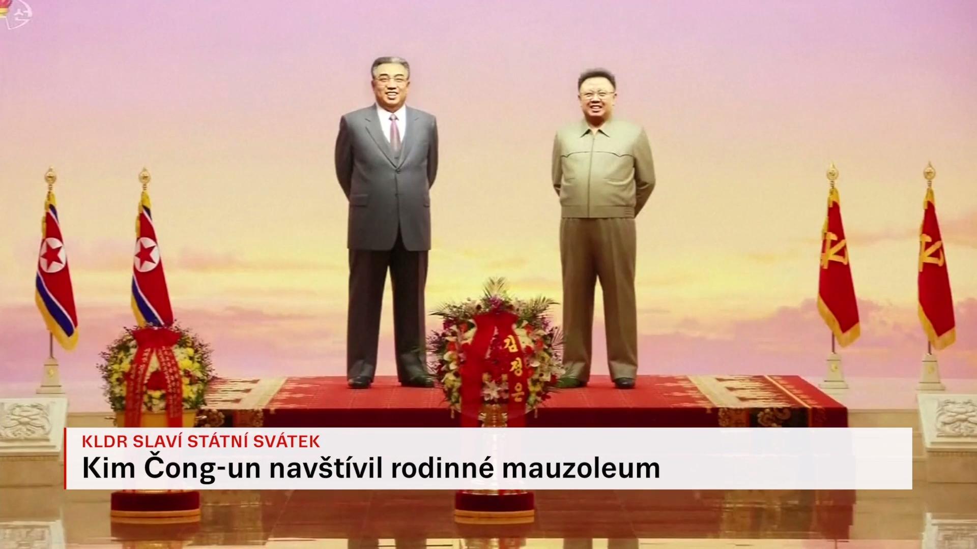 KLDR slaví Den zářící hvězdy. Na výročí narození Kim Čong-ila zatančily akvabely