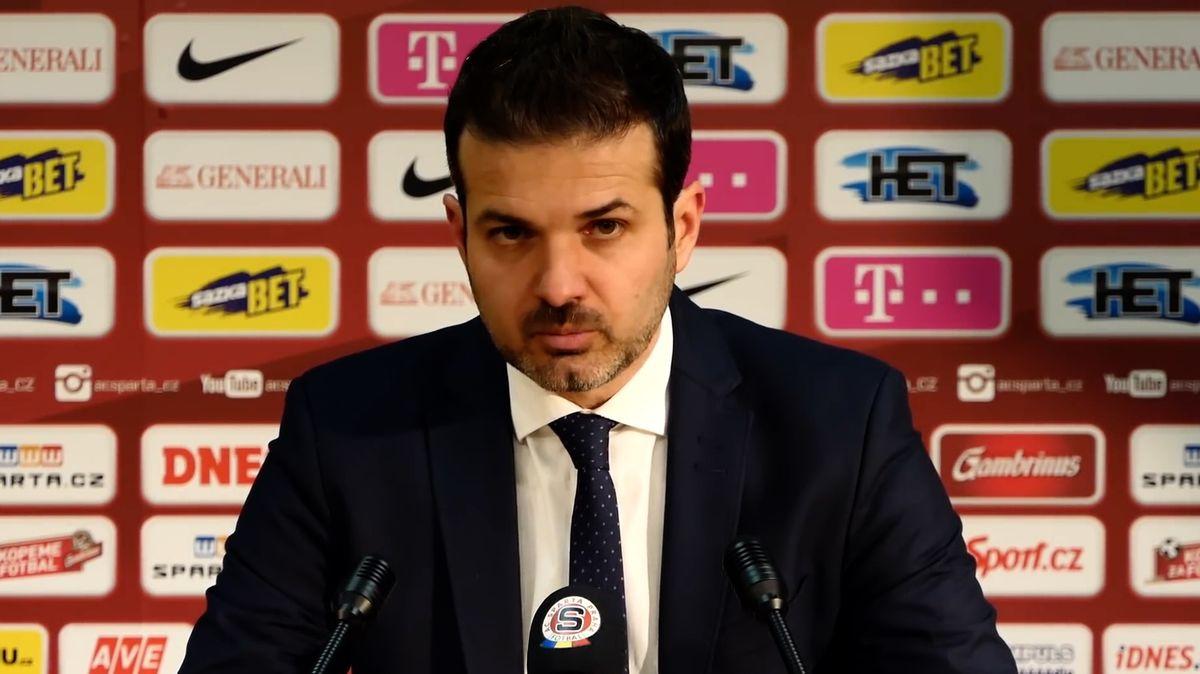 Sparta představila nového trenéra, Stramaccioniho nahradil Hapal