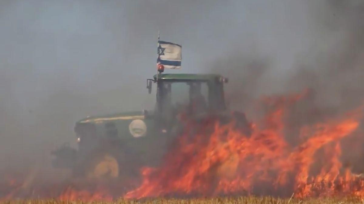 Palestinci zapalují izraelská území pomocí draků. Odpověď přišla ze vzduchu: drony