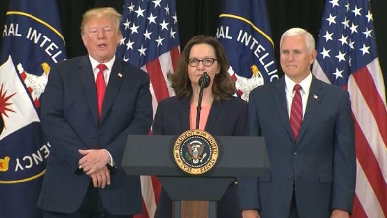 V čele CIA stojí poprvé v historii žena, Trump oficiálně uvedl Haspelovou do úřadu