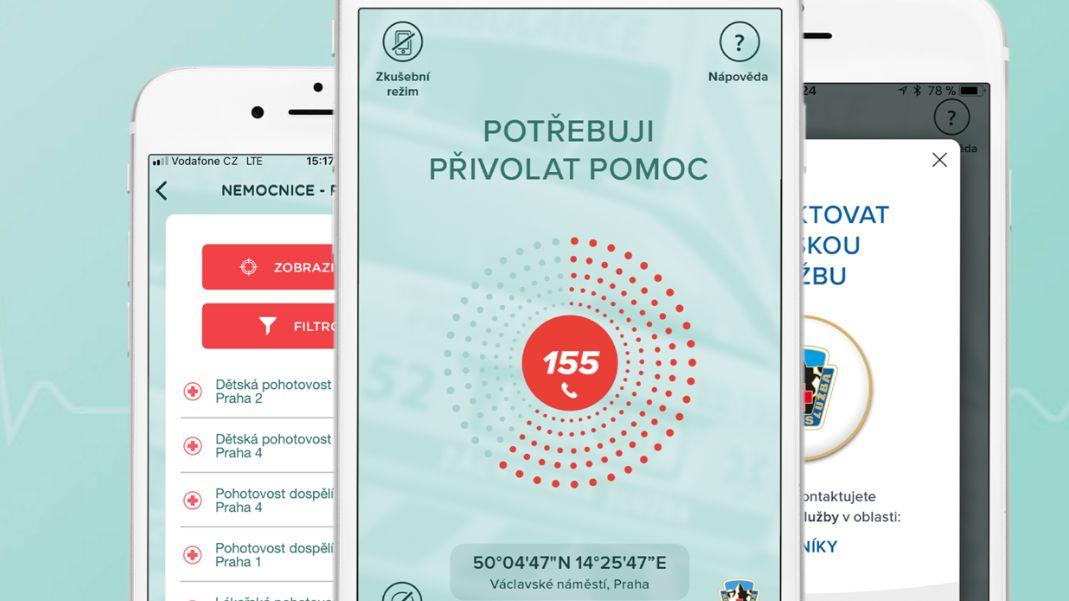 Aplikaci Záchranka čeká skok do půlky Evropy
