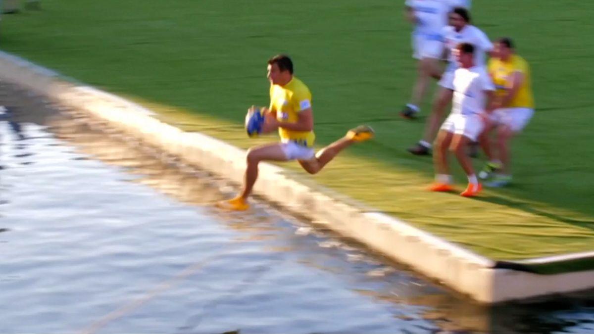 Na jihu Francie si sportovci poradili s globálním oteplováním, hrají vodní ragby