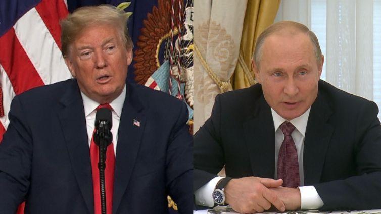 Trump s Putinem v Helsinkách společně popřeli ruské vměšování do amerických voleb