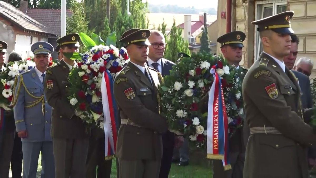 V Lošanech uctili památku generála Mašína, jeho vnučka přečetla dopis Mašína ml. z USA