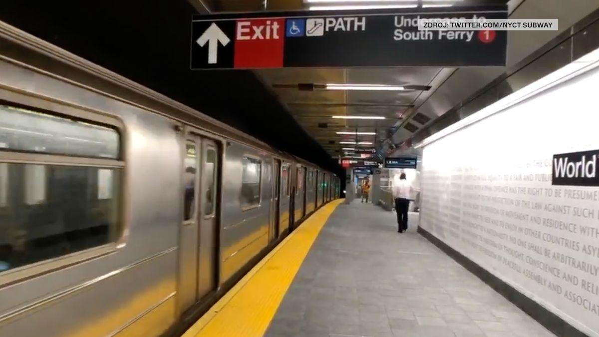 Stanice metra zničená při útocích z 11. září je po sedmnácti letech opět v provozu