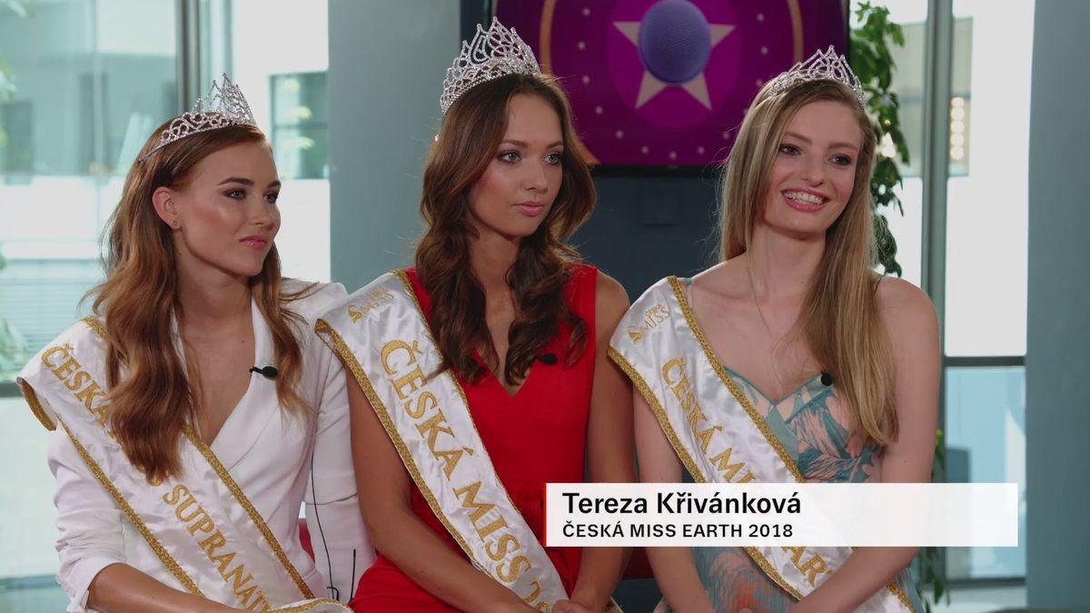 Finálový večer jsme si užily a vítězství jsme nečekaly, prozradily vítězky České Miss ve studiu Slavných