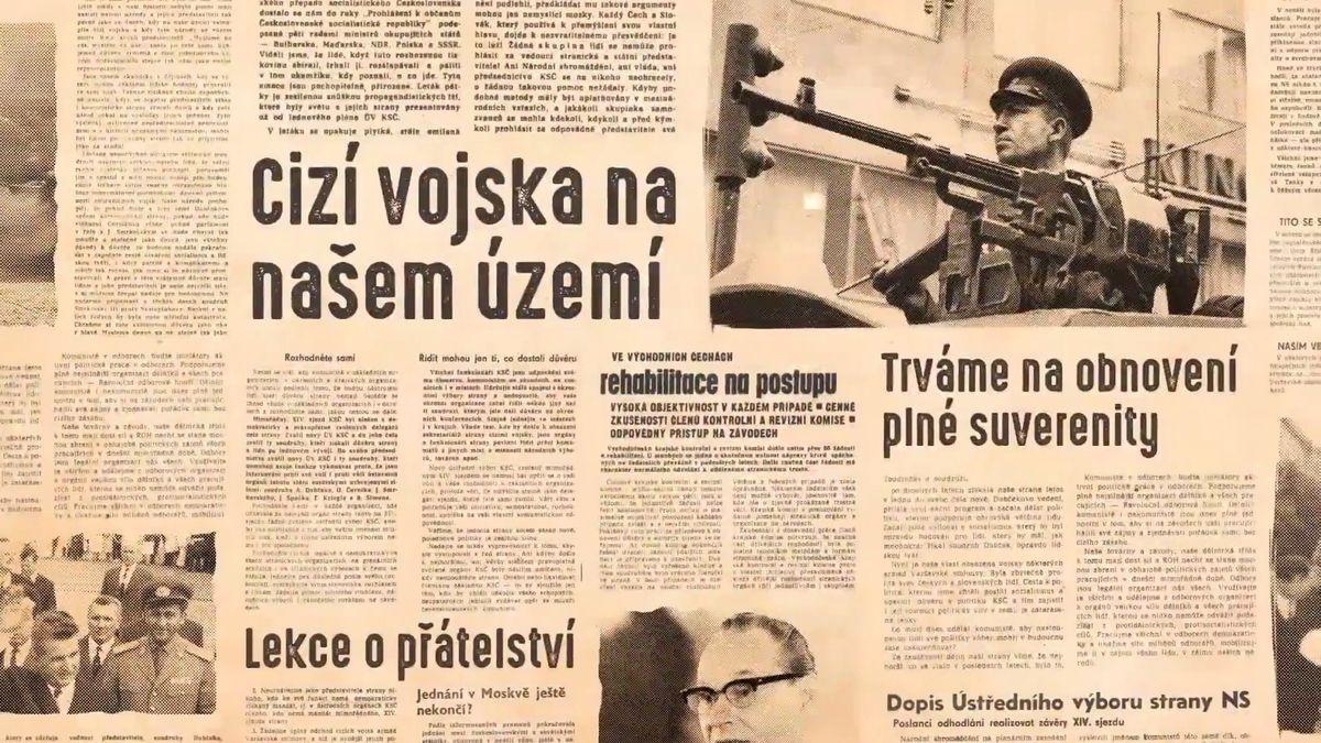 """Reportéři Seznamu: Proč tolik pozornosti výročí invaze v '68? """"Děsí mě, jak se moc komunistů zvedá,"""" říká mladý tvůrce"""