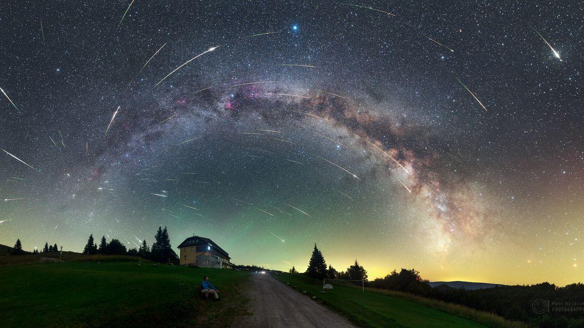 Padají hvězdy, Perseidy v noci rozsvítí oblohu