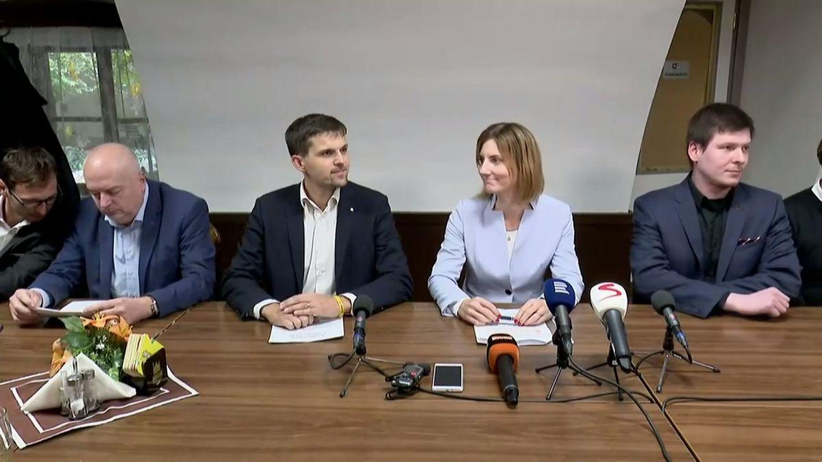 """Záznam: """"Megapodrazácká"""" koalice představila svoji vizi pro Brno"""