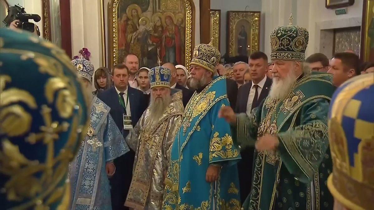 Ruská pravoslavná církev ruší styky skonstantinopolským patriarchátem
