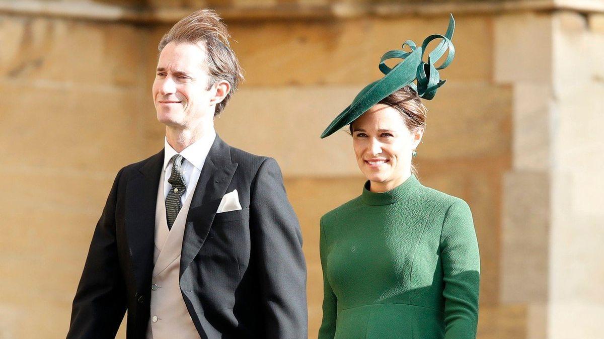 Další miminko vkrálovské rodině: Sestra vévodkyně Kate Pippa porodila chlapce