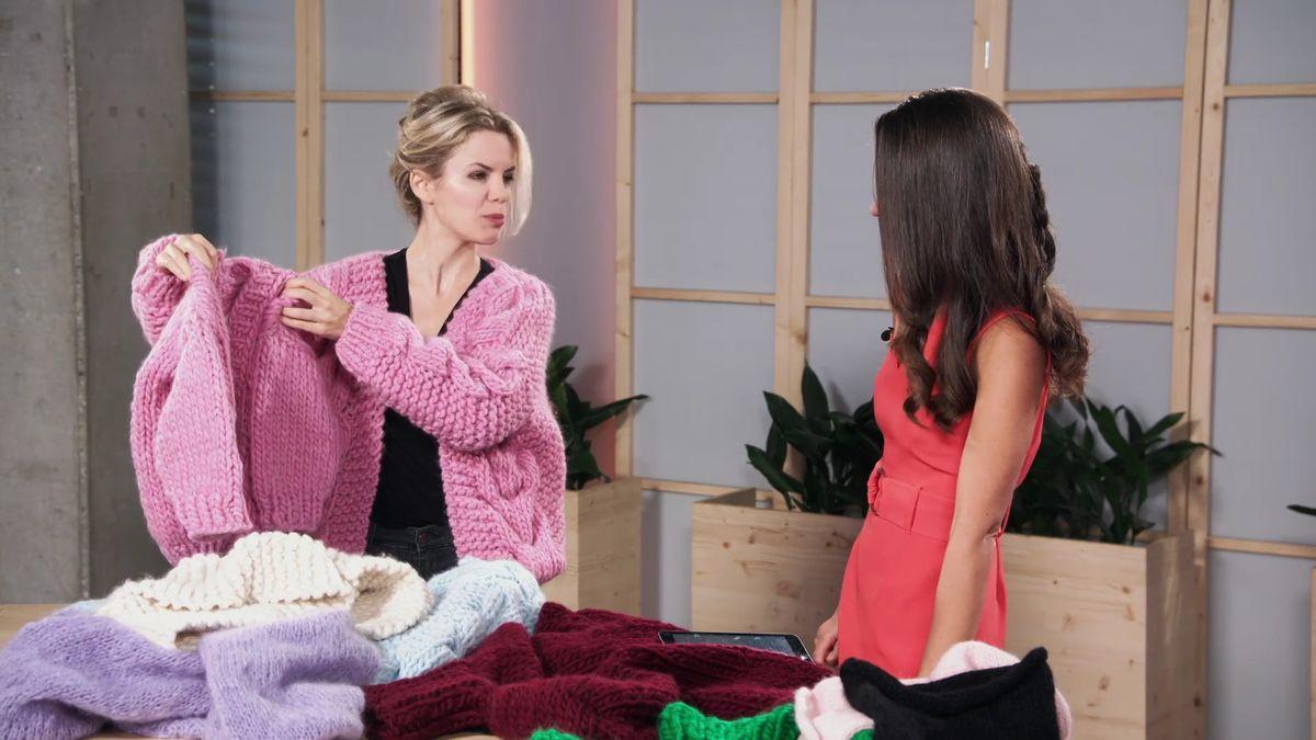 Královna pletení vRodince. Tyto svetry chtějí po celém světě