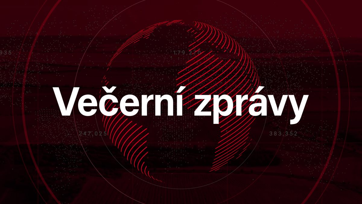 Večerní zprávy: Problémy svlaky Arriva, kriminalita vČesku vzrostla a kyberbezpečnost nemocnic