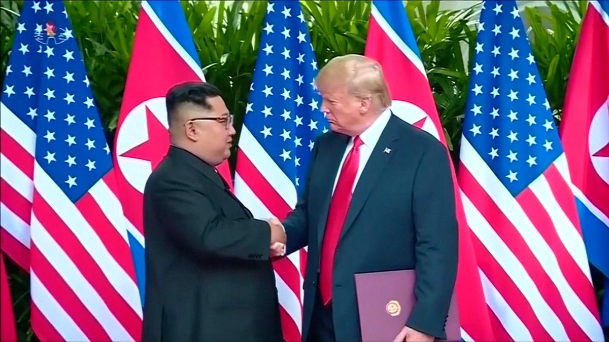 Trump plánuje další summit sKimem na konci února, padnout by mohlo datum odzbrojení Korejského poloostrova