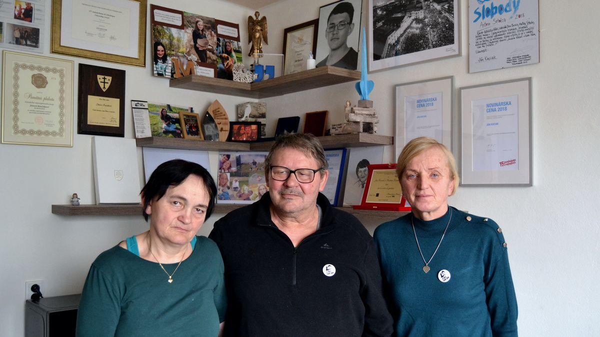 Rodina zavražděného Kuciaka: Zabily ho špinavé peníze, nejde se stím vyrovnat