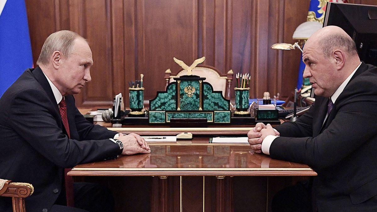 Ruský parlament schválil Mišustina ve funkci premiéra