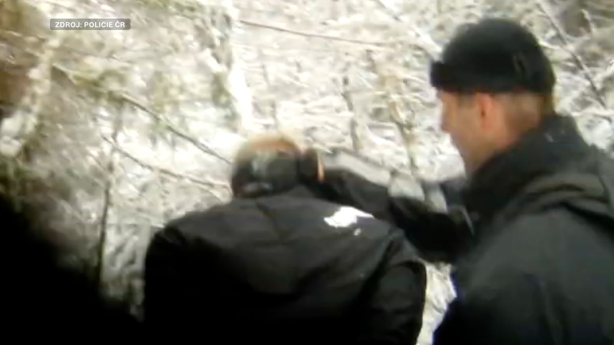 Video: Zběslilá policejní honička se střelbou. Muž prchal přes Česko kradeným vozem
