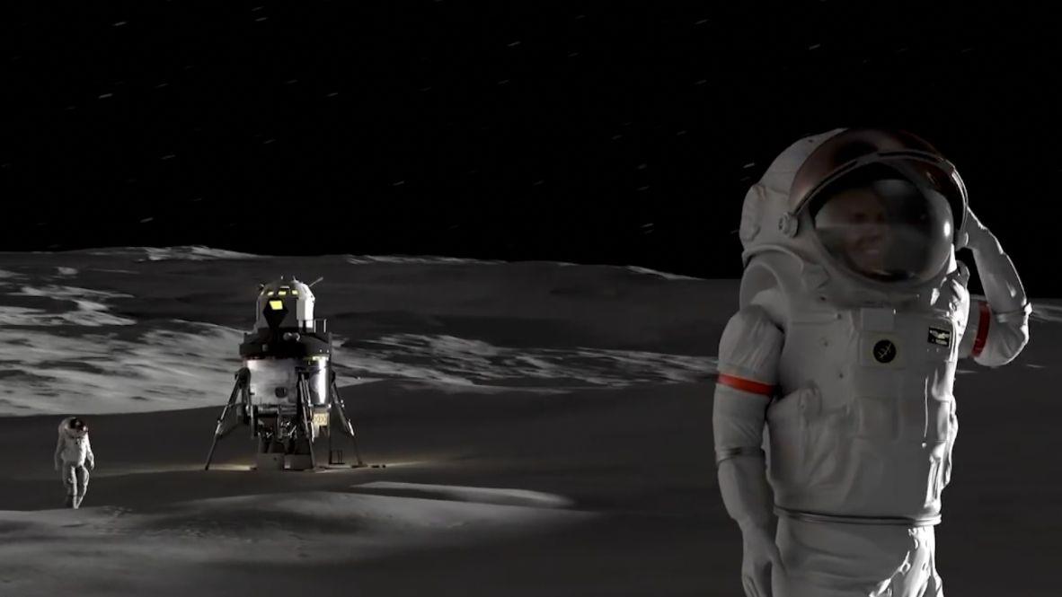 Mars se bude dobývat zMěsíce– je tam led. Na měsíční orbitě vznikne stanice, která nahradí ISS