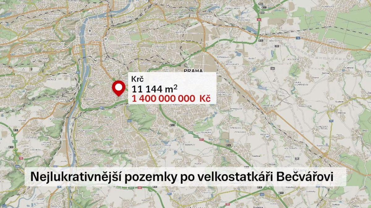 Úředníci vydali pozemky za víc než miliardu falešné restituentce. Už se píše obžaloba