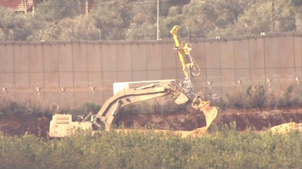"""Izraelci boří """"bojové"""" tunely Hizballáhu. Měří i200 metrů"""