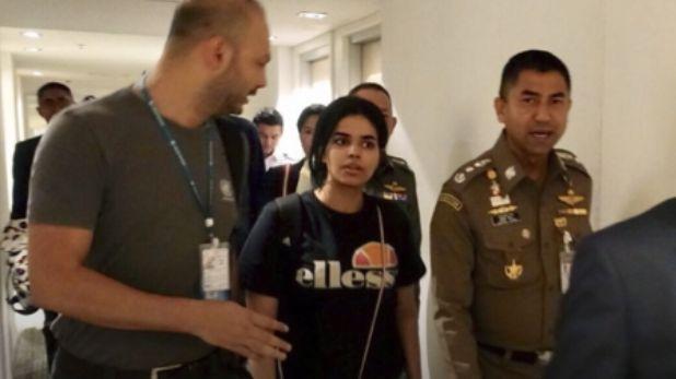 Mladá Saúdka utíkající před rodinou je oficiálně uprchlík. OSN ji posílá do Austrálie