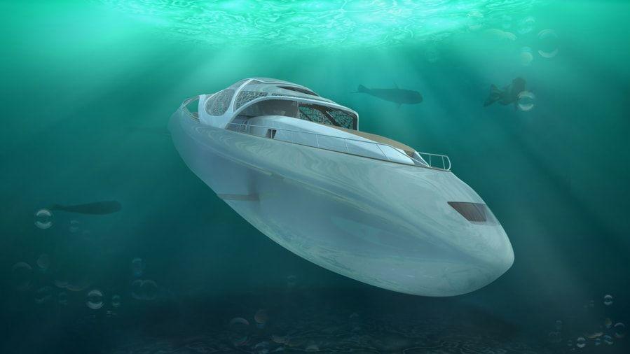 Jako z007: luxusní jachta a ponorka vjednom