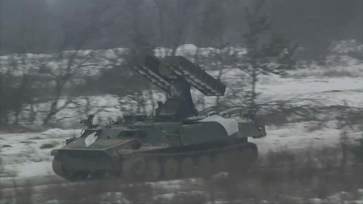 Podle Kyjeva separatisté poblíž Donbasu nedodržují příměří a pálí granátomety