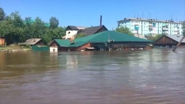 Sibiř zasáhly povodně, voblasti platí výjimečný stav