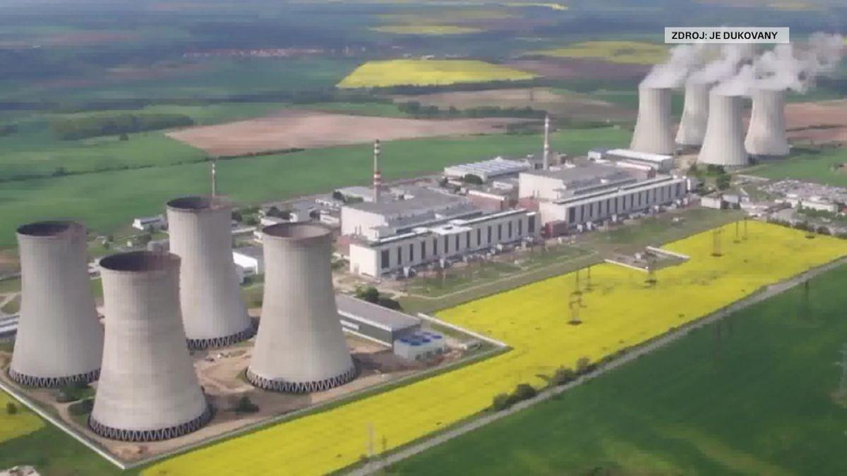 Elektrárna Dukovany kvůli nečekaným problémům parogenerátoru odstavila blok číslo 1