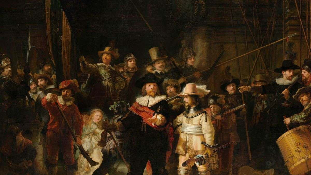 """Krádež Rembrandtových obrazů překazila """"noční hlídka"""", zloděj obrazy hodil na zem a utekl"""