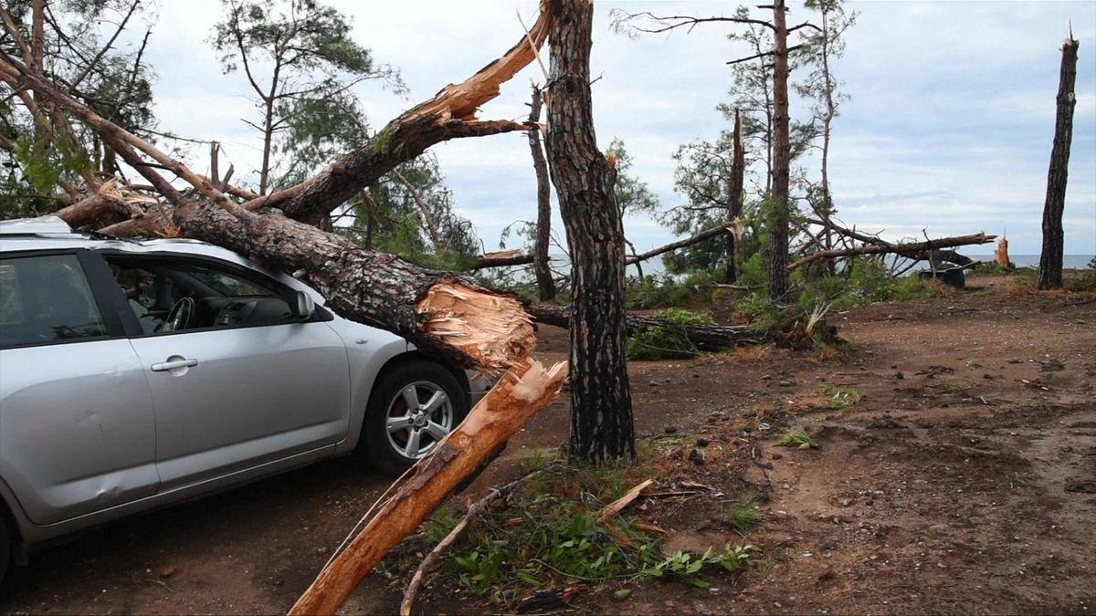 Svědectví Čechů vŘecku: Seděli jsme vobytném autě, kolem padaly stromy