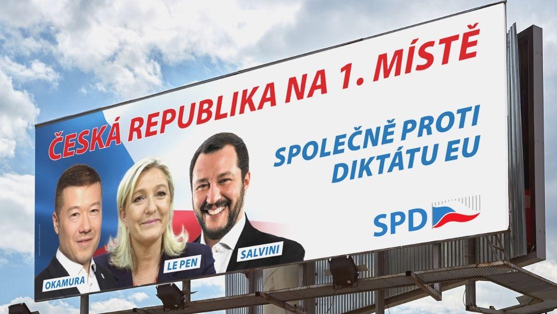 Štětinovo hnutí podalo trestní oznámení na SPD za šíření poplašné zprávy oEvropské unii