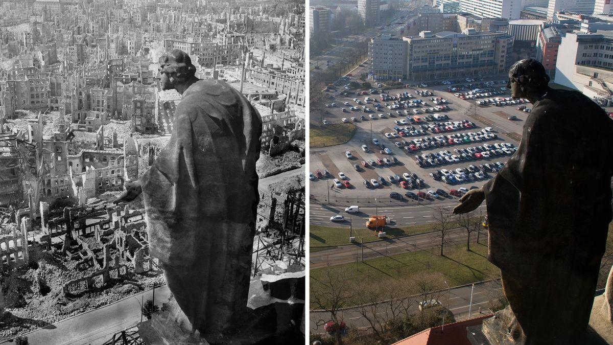 75let od bombardování Drážďan– ipo letech bolestné téma