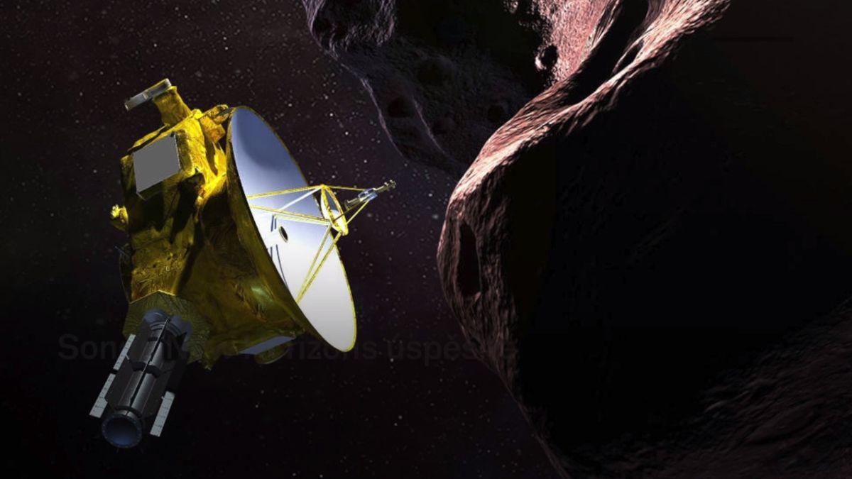 Sonda New Horizons prolétla kolem velmi vzdálené planetky Ultima Thule