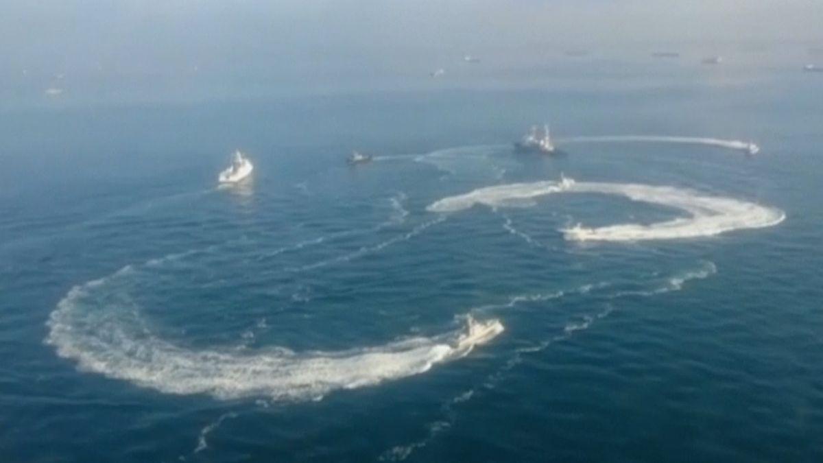 Mezinárodní soud: Moskva musí propustit ukrajinské námořníky