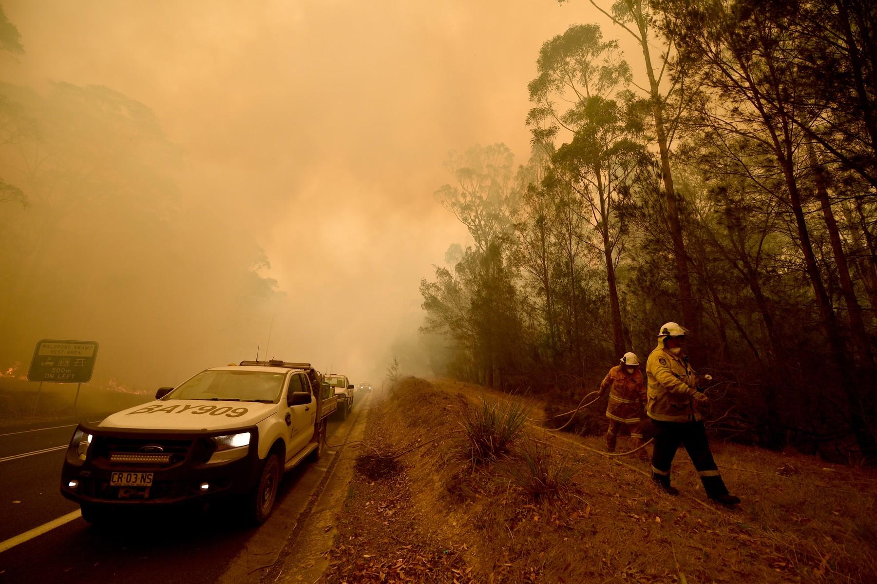 Austrálie v plamenech