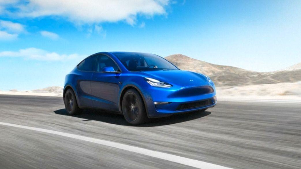 """Tesla je """"S3XY"""". Musk představil SUV Model Y, prodávat se bude ve čtyřech verzích za dva roky"""