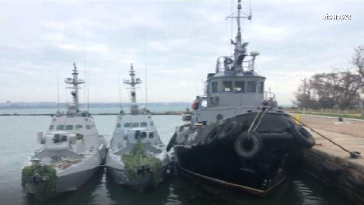 EU uvalí sankce na lidi odpovědné za ruskou akci vAzovském moři