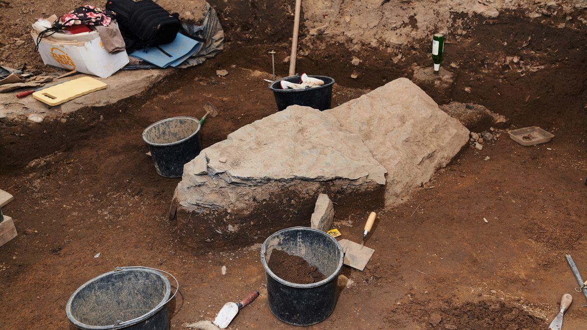 Archeologové našli vBrně - Starém Lískovci okraj pravěké vesnice