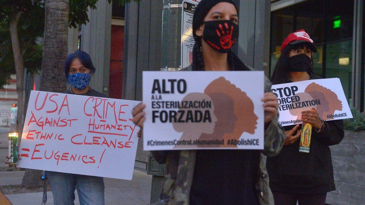 Mexiko pobouřilo svědectví osterilizacích migrantek vdetenčním centru vUSA
