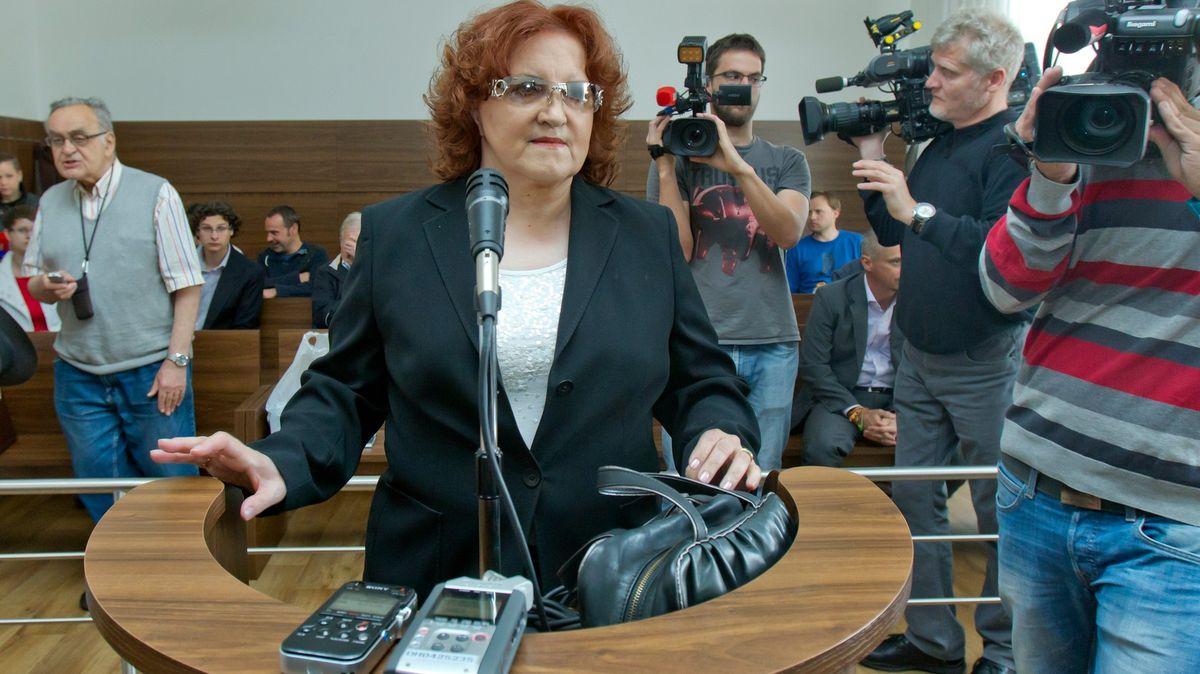 Soud osvobodil vkauze CASA exministryni Parkanovou