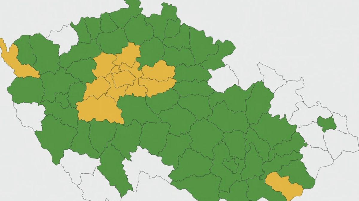 Česko bude oranžové. Přehledně: Změny, které mají nákazu zkrotit