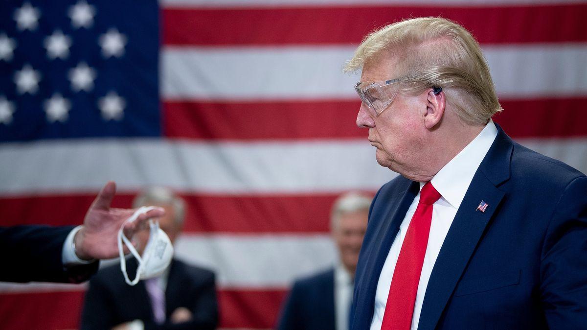 Trump si nasadil antimalarika: Myslím, že je to dobré