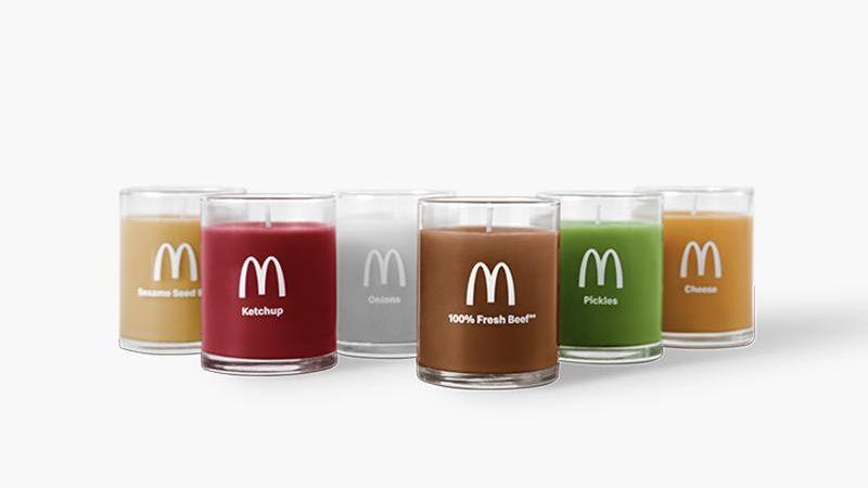 """Je libo svíčku svůní kečupu, či hranolků? Neuvěřitelná novinka od """"mekáče"""""""