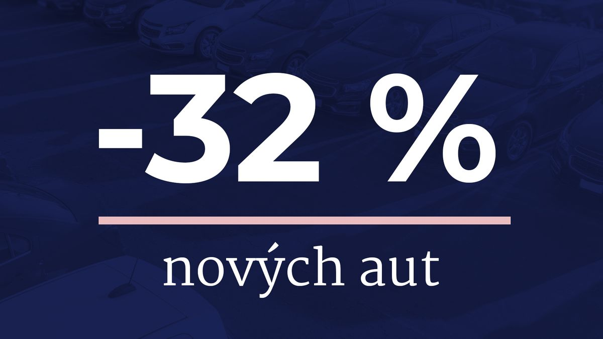 Prodej aut vEU za osm měsíců klesl téměř otřetinu
